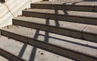 escalier en pierre naturelle marche et mont e d 39 escalier